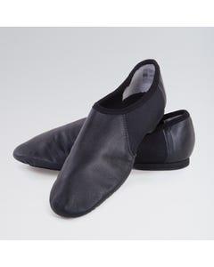 1st Position Split Sole Jazz Shoe with Suede Sole