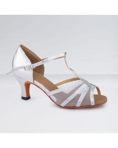 1st Position PU & Mesh T-Bar Buckle Fastening Ballroom Shoes