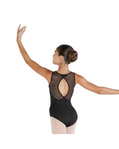Bloch Butterfly Embroidered Tank Leotard