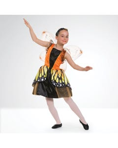 Monarch Butterfly Dress with Wings