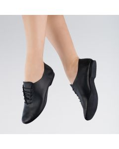 1st Position Leather Jazz Shoes Suede Sole