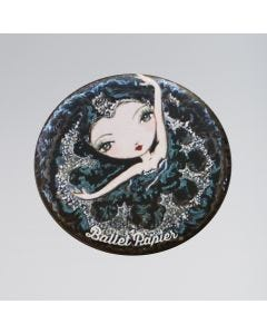 Ballet Papier Pocket Mirror