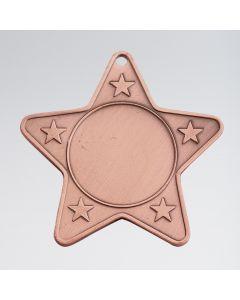Star Shaped Medal (Takes 2.5cm centre)