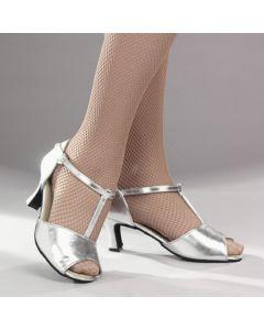 1st Position Silver Cabaret Shoes