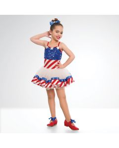 1st Position USA Tutu