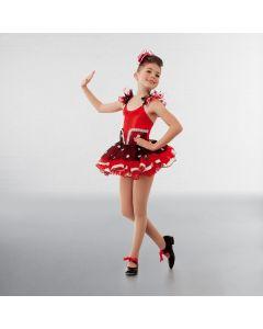 1st Position Glitter Polka Dot TUTU Skirt