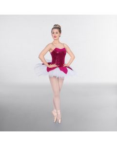 1st Position Sequin Velour Petal Tutu