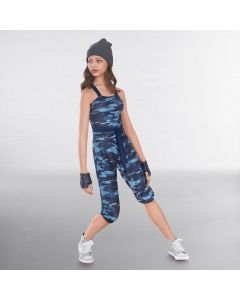 1st Position Camo Urban Jumpsuit