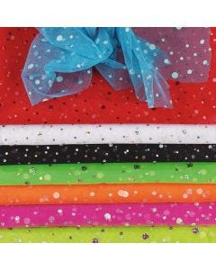 Hologram Tulle Fabric