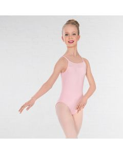 1st Position Mesh Panel Double Strap Leotard
