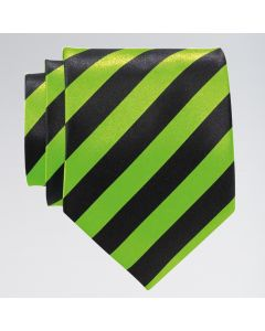 Neon Striped Tie