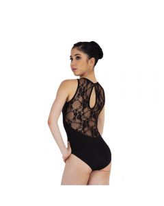 Plume High Neck Leotard