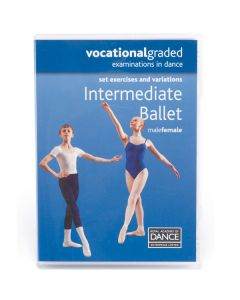 RAD Vocational Intermediate Ballet DVD