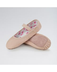 So Danca Leather Stretch Full Sole Ballet Shoe