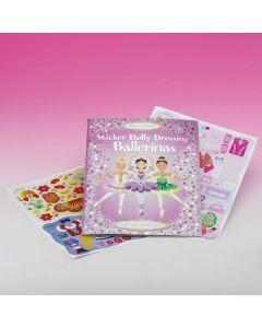 Sticker Dolly Dressing Book Ballerinas