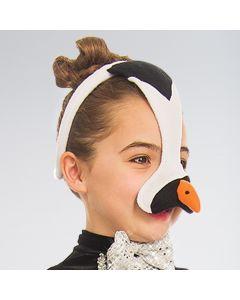 Penguin Face Mask Plush