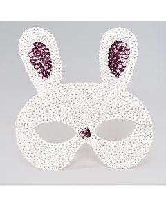 Sequin Rabbit Mask