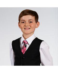 Pink Tartan Tie