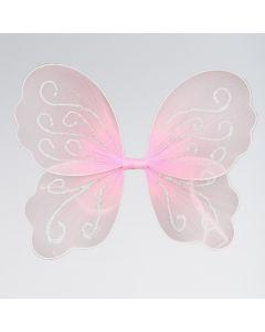 Pale Pink Butterfly Wings