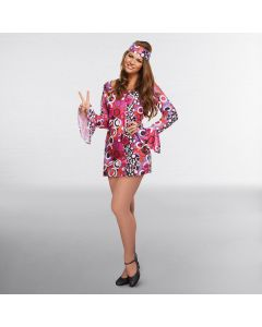 Adult Hippie Dress Adult One Size