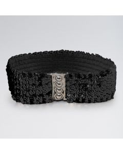 Stretch Sequin Belt