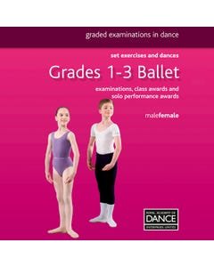 RAD Grades 1-3 Ballet Book