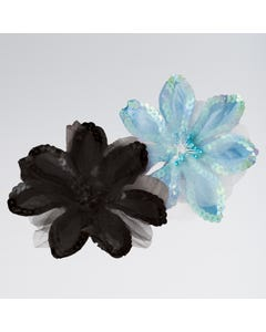 Sequin Flower Elastic